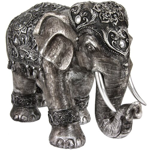 Oriental Furniture Auspicious Elephant Figurine