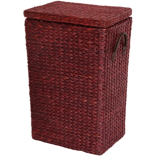 Oriental Furniture Rush Grass Laundry Basket