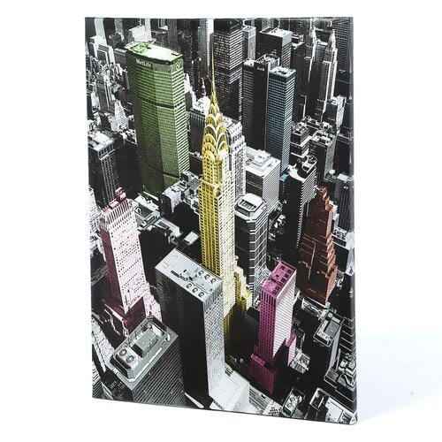 Oriental Furniture High-Lights of New York Graphic Art on Canvas