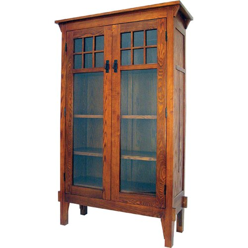 "Oriental Furniture Entertainment 68"" Bookcase"