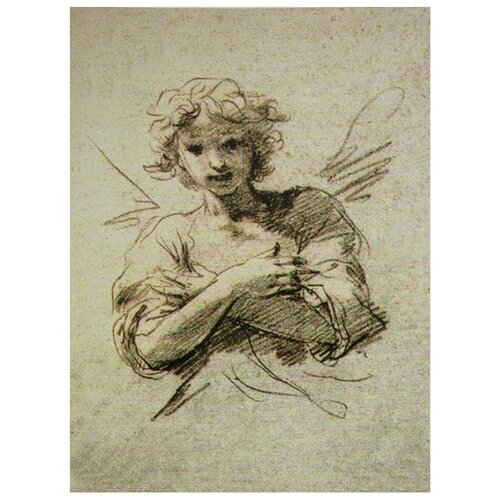 Oriental Furniture Angel Graphic Art on Canvas