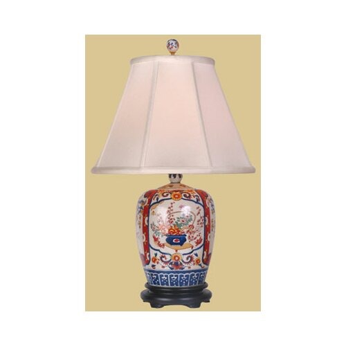 Oriental Furniture Imari Jar Table Lamp