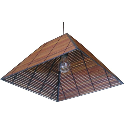 Oriental Furniture Yamanote Japanese 1 Light Hanging Lantern