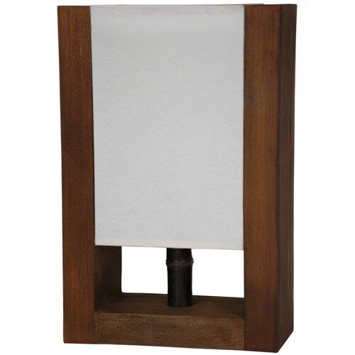 zen modern decorative h table lamp with rectangle. Black Bedroom Furniture Sets. Home Design Ideas
