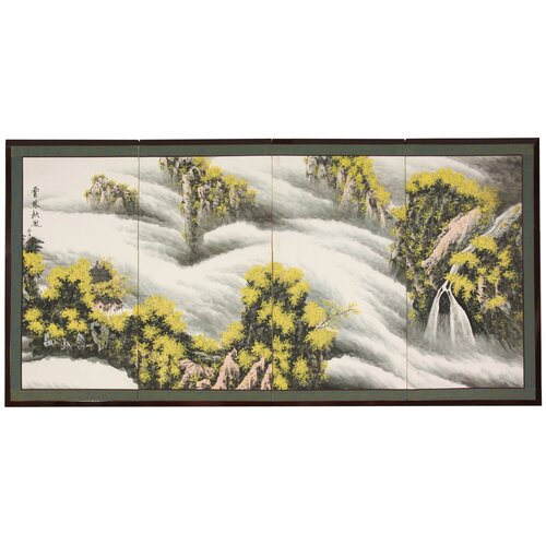 Waterfall of Dreams Framed Original Painting