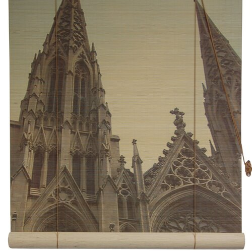 St. Patrick's Cathedral Bamboo Roller Blind