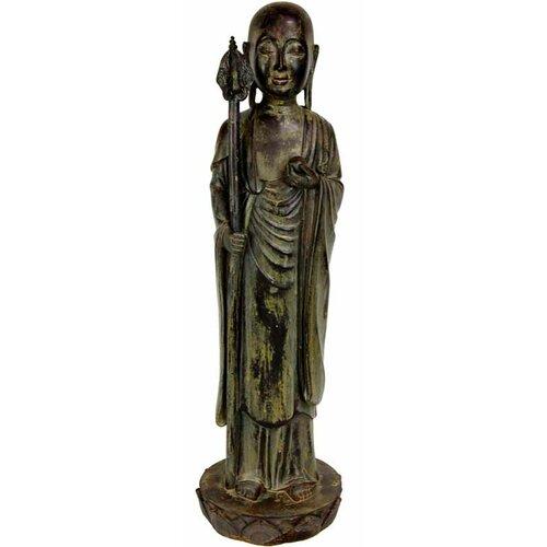 Standing Japanese Zen Monk Figurine
