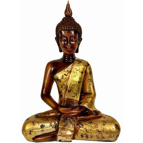 Thai Sitting Buddha Figurine