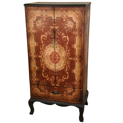 Oriental Furniture Olde-Worlde European 2 Door Cabinet