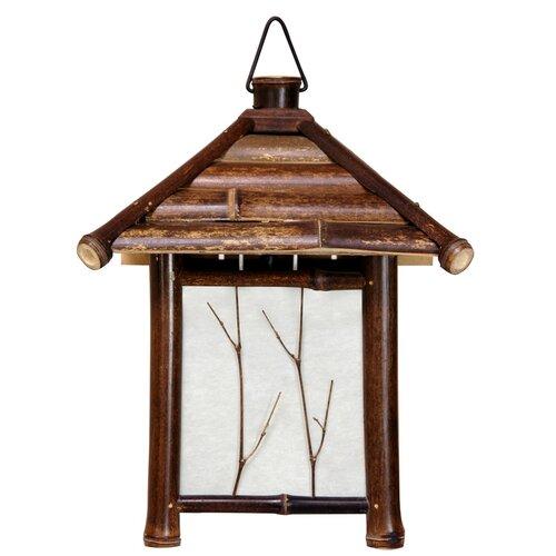 Oriental Furniture Japanese Pagoda 1 Light Lantern