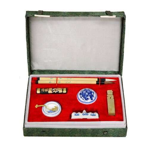 Oriental Furniture Mandarin Writing Set