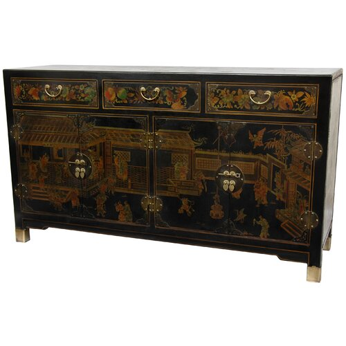 Oriental Furniture Large Buffet Table