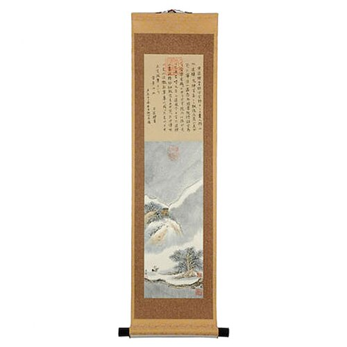 Oriental Furniture Landscape Oriental Watercolor Painting Wall Hanging
