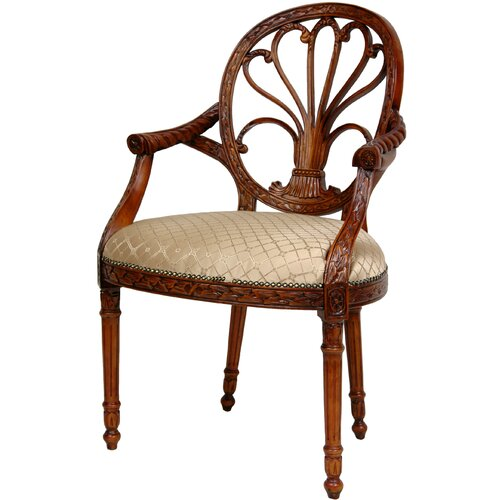 Queen Elizabeth Fabric Arm Chair