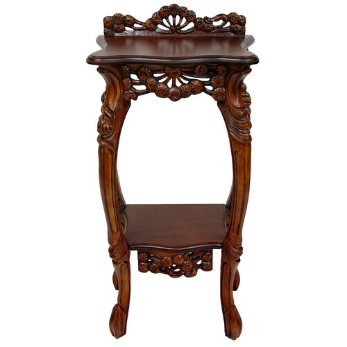 Oriental Furniture Queen Mary Multi-Tiered Plant Stand