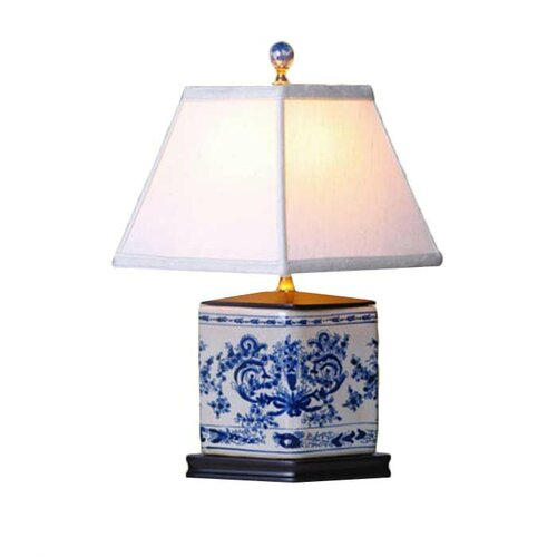 "Oriental Furniture Vase 19"" H Table Lamp"