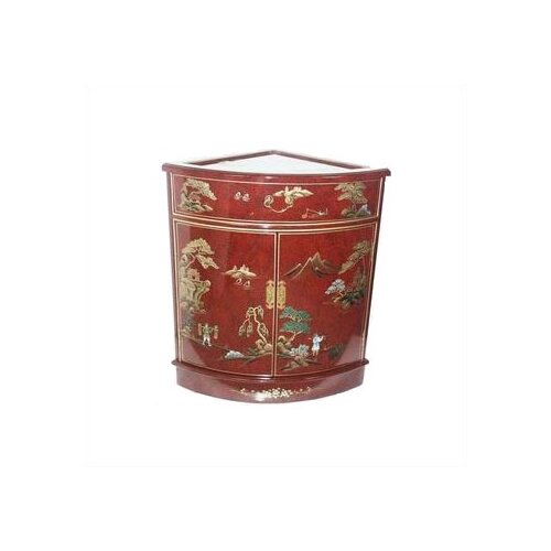 Asian Imperial Heavens Corner Cabinet