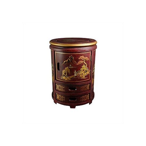 Japanese Decorative Storage Stool