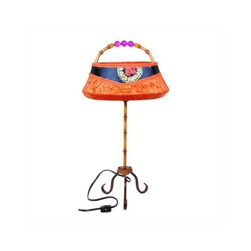 "Oriental Furniture Shanghai Clutch 21"" H Table Lamp"