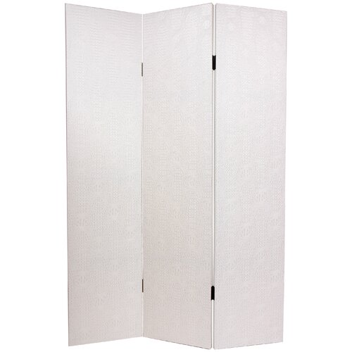 "Oriental Furniture 70.88"" x 47.25"" 3 Panel Room Divider"