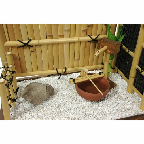 Oriental Furniture Zen Mini Rock Garden Sculpture