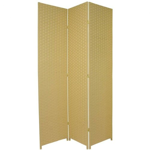 "Oriental Furniture 84"" x 48"" 3 Panel Room Divider"