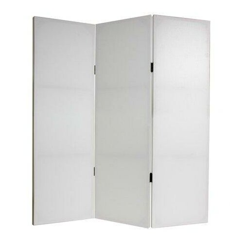 "Oriental Furniture 48"" x 47.25"" Do It Yourself 3 Panel Room Divider"