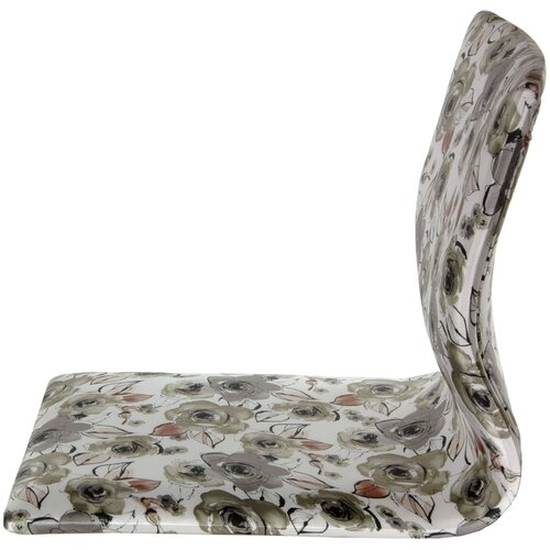 Tatami Floral Meditation Fabric Lounge Chair