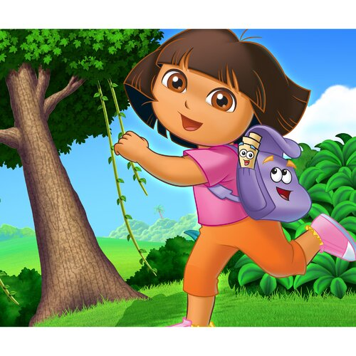 Oriental Furniture Dora the Explorer Canvas Art