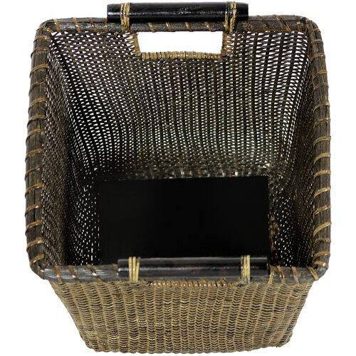 Oriental Furniture Rattan Storage Bin
