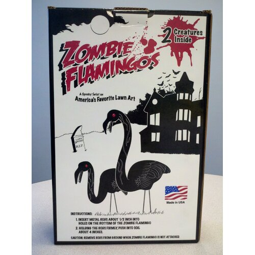 Union Products Zombie Flamingos
