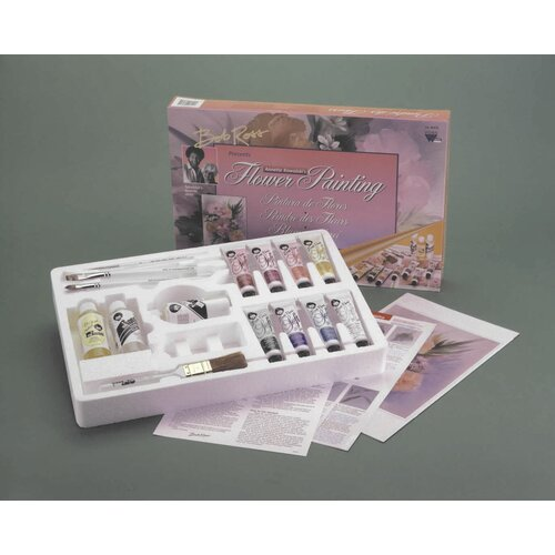 Weber Art ROSS FLORAL PAINTING SET
