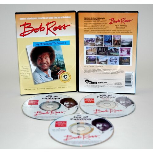 Weber Art ROSS DVD JOY OF PAINTING SERIES 4. FEATURING 13 SHOWS