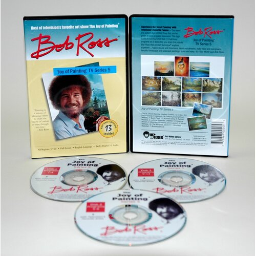 Weber Art ROSS DVD JOY OF PAINTING SERIES 5. FEATURING 13 SHOWS