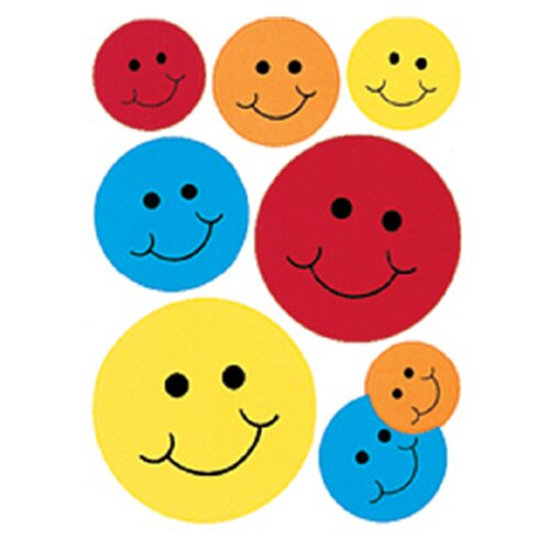 Eureka! Window Cling Smiles 12 X 17