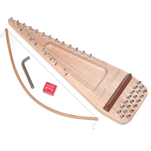 Zither Heaven Twenty String Maple Bowed Psaltery