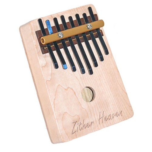 Zither Heaven Eight Note Maple Thumb Piano