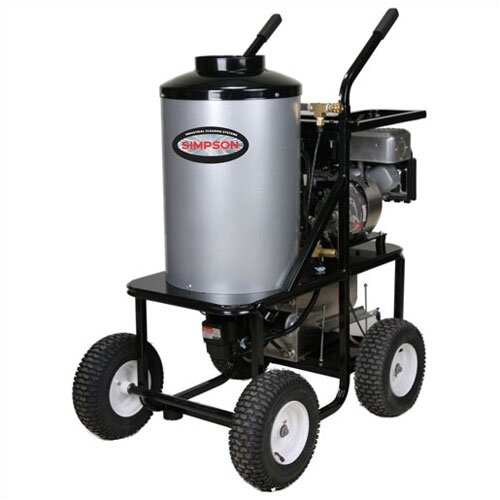 Simpson King-Brute 3000 PSI Gas Powered Hot Water Pressure Washer
