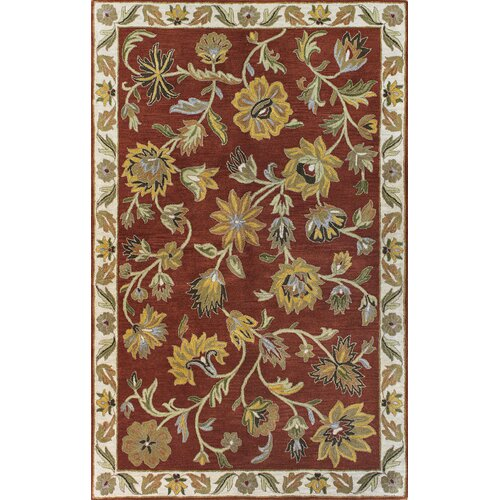 Rajput Rust Bouquet Rug