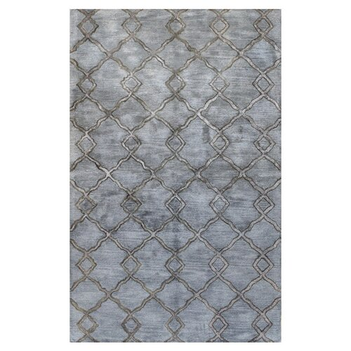 Greenwich Modern Lozenge Slate Rug