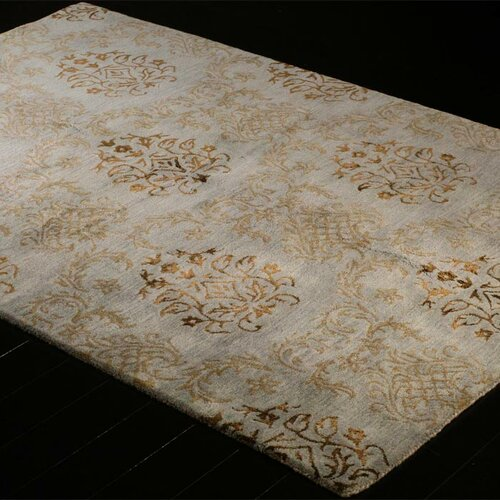 Bashian Rugs Norwalk Light Blue Floral Area Rug Amp Reviews