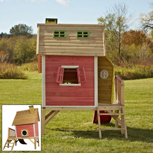 Swing-n-Slide Hide-N-Slide Playhouse