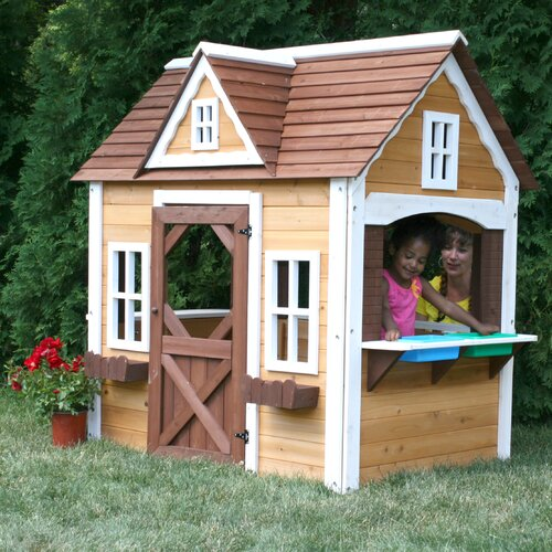 Swing-n-Slide Cottage Playhouse
