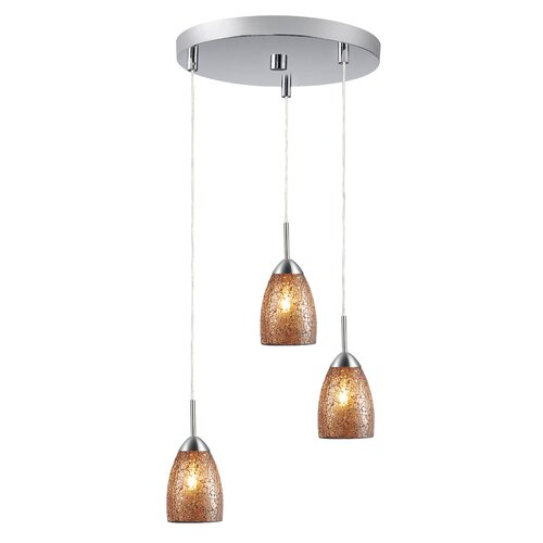 Woodbridge Lighting Venezia 3 Light Mini Pendant