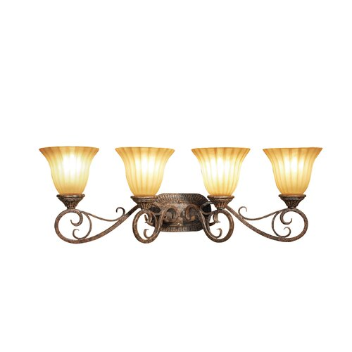Woodbridge Lighting Avondale 4 Light Bath Vanity Light