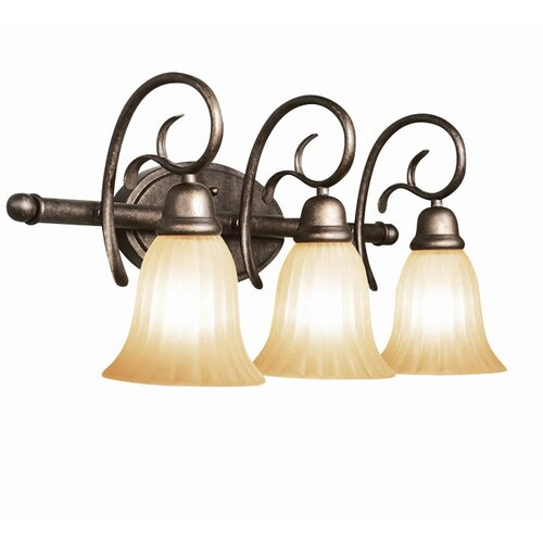 Woodbridge Lighting Clifton 3 Light Bath Vanity Light