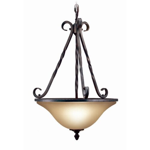 Rosedale 3 Light Pendant