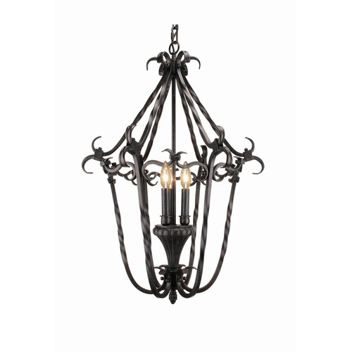 Rosedale 3 Light Foyer Pendant
