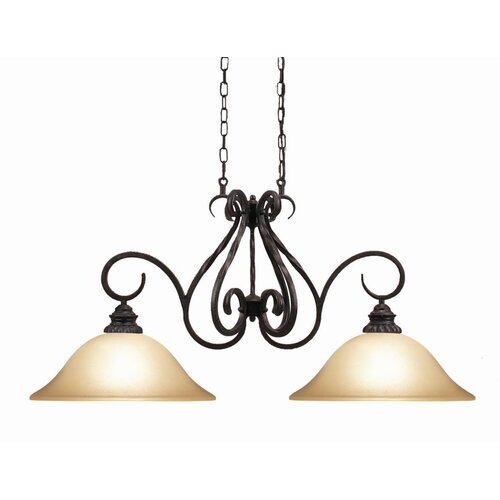 Rosedale 2 Light Kitchen Pendant Light