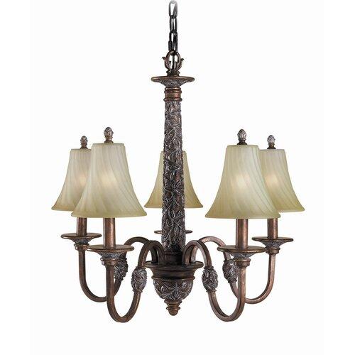 Woodbridge Lighting Vergennes 5 Light Chandelier
